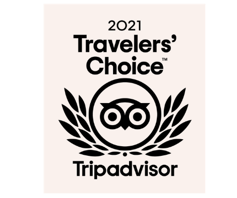 Recognized as one of Savannah's Best Hotels by TripAdvisor 2021